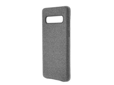 Пластмасов Гръб Texture за Samsung Galaxy S10, Сив