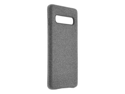 Калъф Гръб Texture PU Leather - Galaxy S10 Plus - Grey