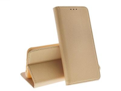 Калъф Тефтер Magnet Book за Samsung Galaxy S8, Златист