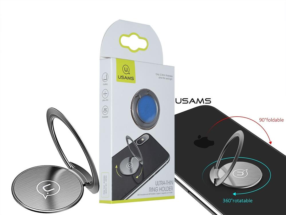 Ултра Тънък Държач за телефон 360 градуса USAMS ZJ038
