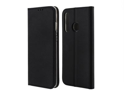 Калъф Тефтер Smart за Huawei Honor 20 Lite , Черен