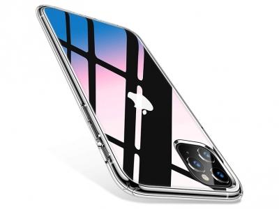 Пластмасов Гръб Glass Case за iPhone 11 Pro Max (6.5) , Прозрачен
