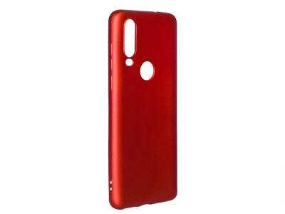 Силиконов Гръб Level за Motorola One Action, Червен