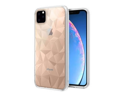 Силиконов гръб PRISM за iPhone 11 Pro Max (6.5), Прозрачен