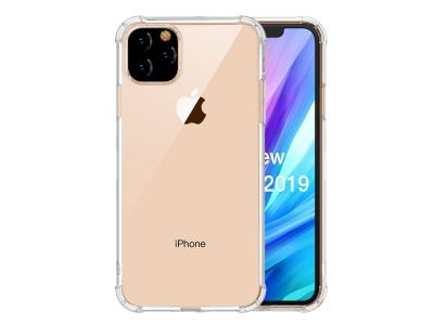 Удароустойчив Гръб LEEU DESIGN за iPhone 11 (6.1 inch) (2019), Прозрачен