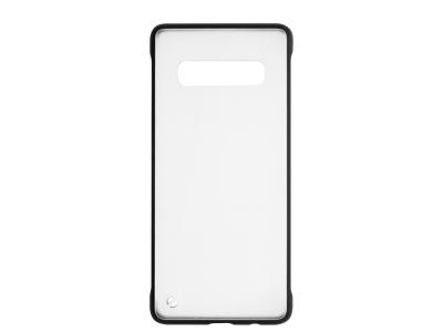 Пластмасов гръб C039 за Samsung Galaxy S10 (G973), Черен