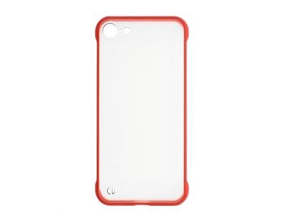 Пластмасов гръб C039 за iPhone 7 / iPhone 8, Червен