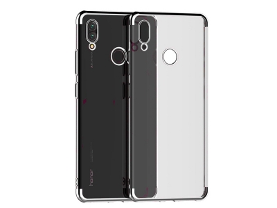 Силиконов калъф  с лайсна - CLEAR Huawei P Smart 2019 Grey