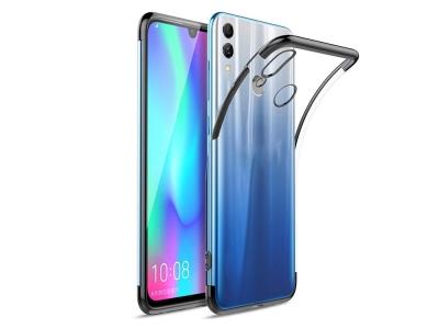 Силиконов калъф  с лайсна - CLEAR Huawei P Smart 2019 Black