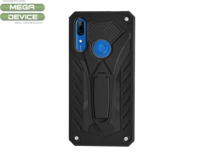 Удароустойчив гръб PHANTOM за Huawei P Smart Z / Y9 Prime, Черен