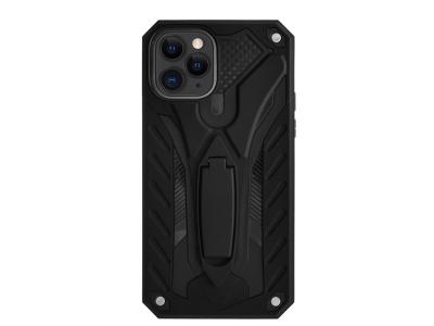 Удароустойчив гръб PHANTOM за iPhone 11 Pro, Черен