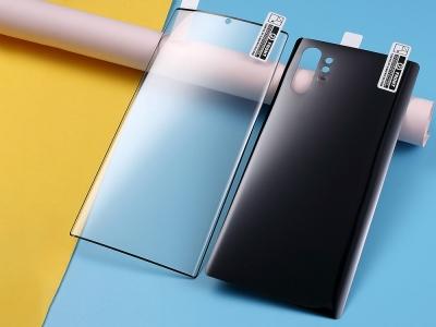 Преден и Заден Протектор за Samsung Galaxy Note 10 Plus 5G/ Note 10 Plus, Черен
