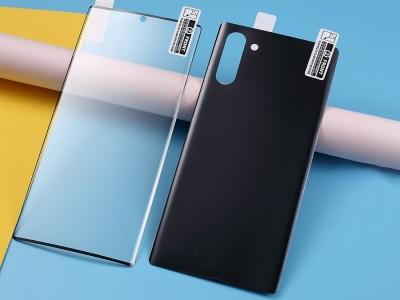 Преден и Заден Протектор за Samsung Galaxy Note 10/Note 10 5G, Черен