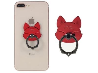 Пръстенче стойка за телефон червена лисица