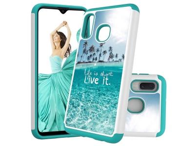 Удароустойчив Гръб Hybrid за Samsung Galaxy A20e / Samsung Galaxy A10e, Плаж
