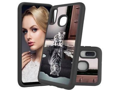 Удароустойчив Гръб Hybrid за Samsung Galaxy A20e / Samsung Galaxy A10e, Коте и Тигър