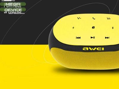 КОЛОНКА AWEI Bluetooth Y200 , Жълт