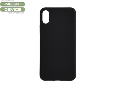 Силиконов Гръб Level за iPhone XR (6.1), Черен