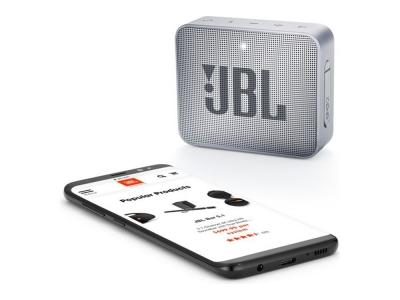 Колонка JBL GO 2, Сив