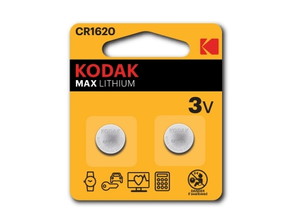 Литиева Батерия KODAK CR 1620 1бр