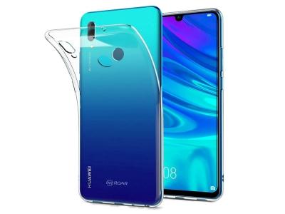 Силиконов гръб Jelly Roar за Huawei Y7 (2019), Прозрачен