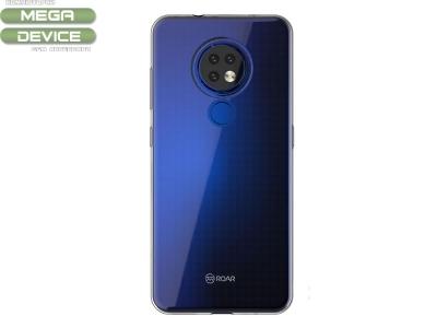 Силиконов гръб Jelly Roar за Nokia 7.2 , Прозрачен