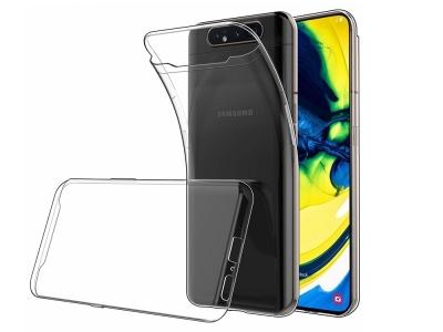 Силиконов гръб за Samsung Galaxy A80/ A90, Прозрачен
