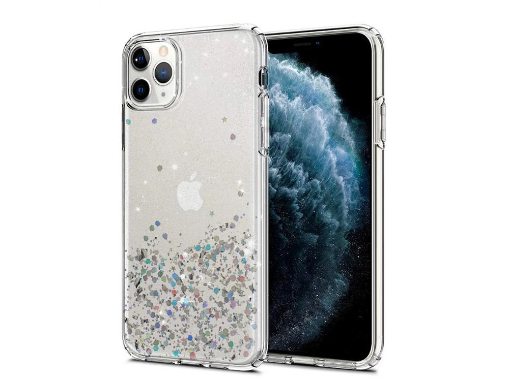Силиконов Гръб Vennus Brillliant за iPhone 11 Pro Max, Прозрачен