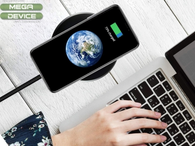Универсално Безжично Зарядно Wireless QI FC-01, Черен