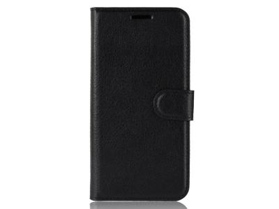 Калъф Тефтер Litchi - iPhone 11 6.1 inch (2019) - Black