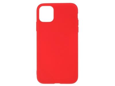 Силиконов Гръб Matte за iPhone 11 Pro (5.8), Червен