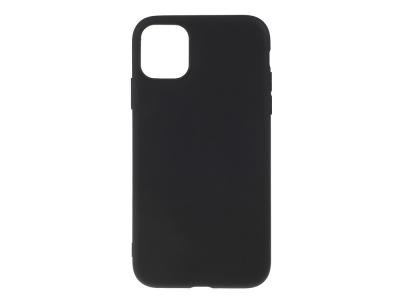 Силиконов Гръб Matte за iPhone 11 Pro (5.8), Черен