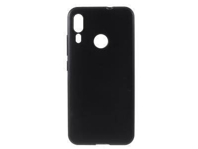 Силиконов Гръб за Motorola Moto E6 Plus, Черен