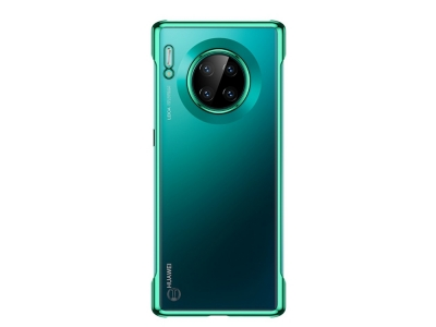 Пластмасов Гръб SULADA Electroplating за Huawei Mate 30, Прозрачен /Зелен