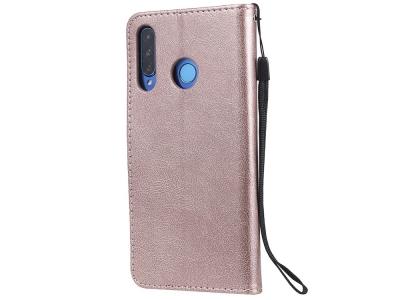 Калъф Тефтер за Huawei P30 Lite / nova 4e, Розов