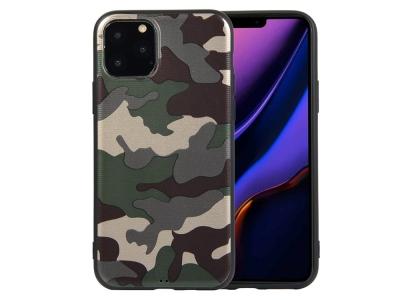 Силиконов Гръб Camouflage за iPhone 11 (6.1), Зелен
