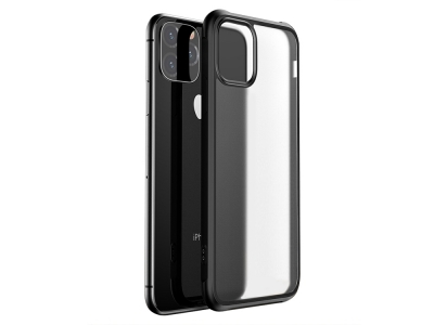 Удароустойчив Гръб LEEU за  iPhone 11 (6.1), Черен