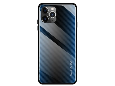 Калъф Гръб Glass - iPhone 11 6.1-inch - Blue