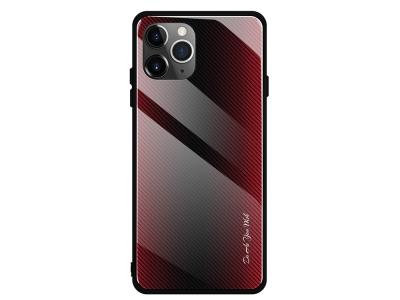Калъф Гръб Glass - iPhone 11 6.1-inch - Red