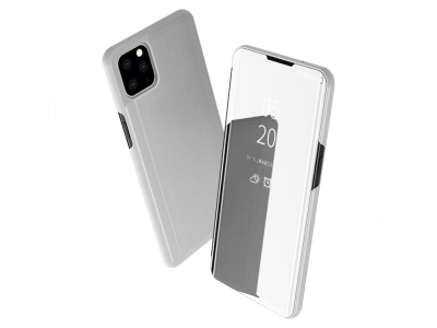 Калъф Тефтер View Window -  iPhone 11 6.1 inch (2019) - Silver