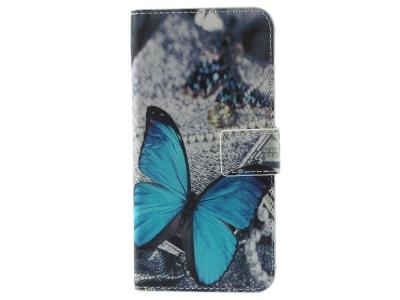 Калъф Тефтер за Phone 6s / 6 , Пеперуда