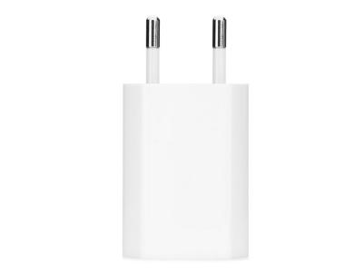 Оригинално зарядно Apple A1400 + кабел MD818 (MB707 ZM/B) EU Blister