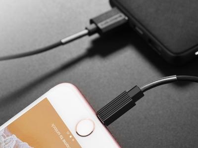Кабел BOROFONE Ujet BX11 iPhone Lightning 1M, Черен