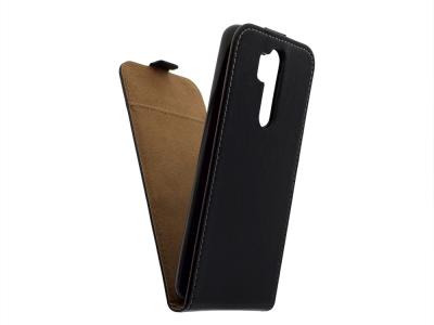 Калъф тефтер Slim Flexy за Xiaomi Redmi Note 8 Pro, Черен