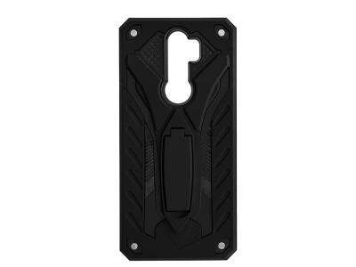 Удароустойчив гръб PHANTOM за Xiaomi Redmi Note 8 Pro, Черен