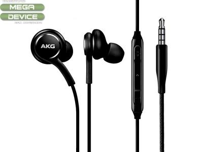 Оригинални Слушалки с микрофон Samsung Akg EO-IG955 Galaxy S10, Черен ( Bulk)