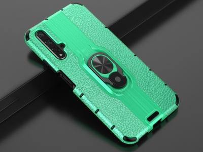 Удароустойчив Гръб Kickstand за Huawei Honor 20S / Honor 20 / nova 5T, Зелен