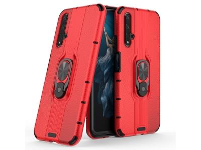 Удароустойчив Гръб Kickstand за Huawei Honor 20S / Honor 20 / nova 5T, Червен
