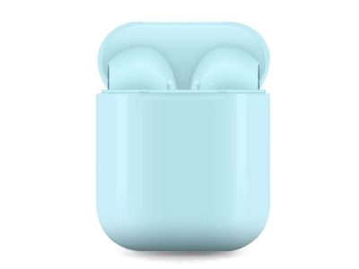 Слушалки TWS Bluetooth 5.0 Pop Up , Син