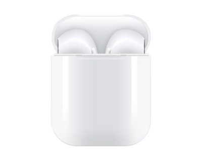 Слушалки TWS Bluetooth 5.0 Pop Up, Бял